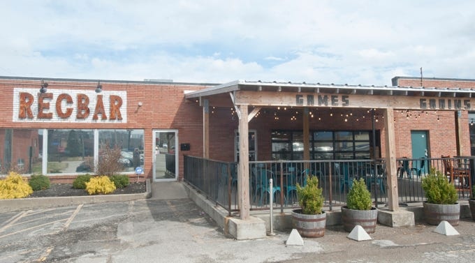 The Recbar is a Jeffersontown pub featuring rooms filled with arcade atractions such as pinball machines and basketball throws. There's even two thoroughbreds you can climb in a horserace simulation game.14 March 2019