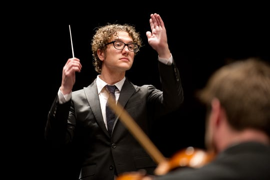 Louisville Orchestra Musical Director Teddy Abrams.