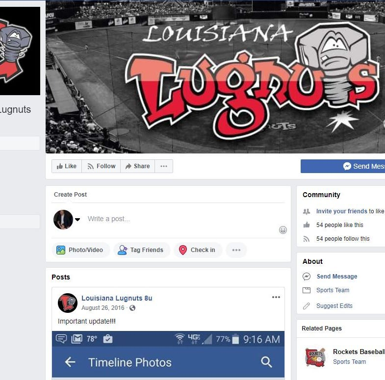 Lansing Lugnuts investigating Louisiana youth baseball team's use of team's logo