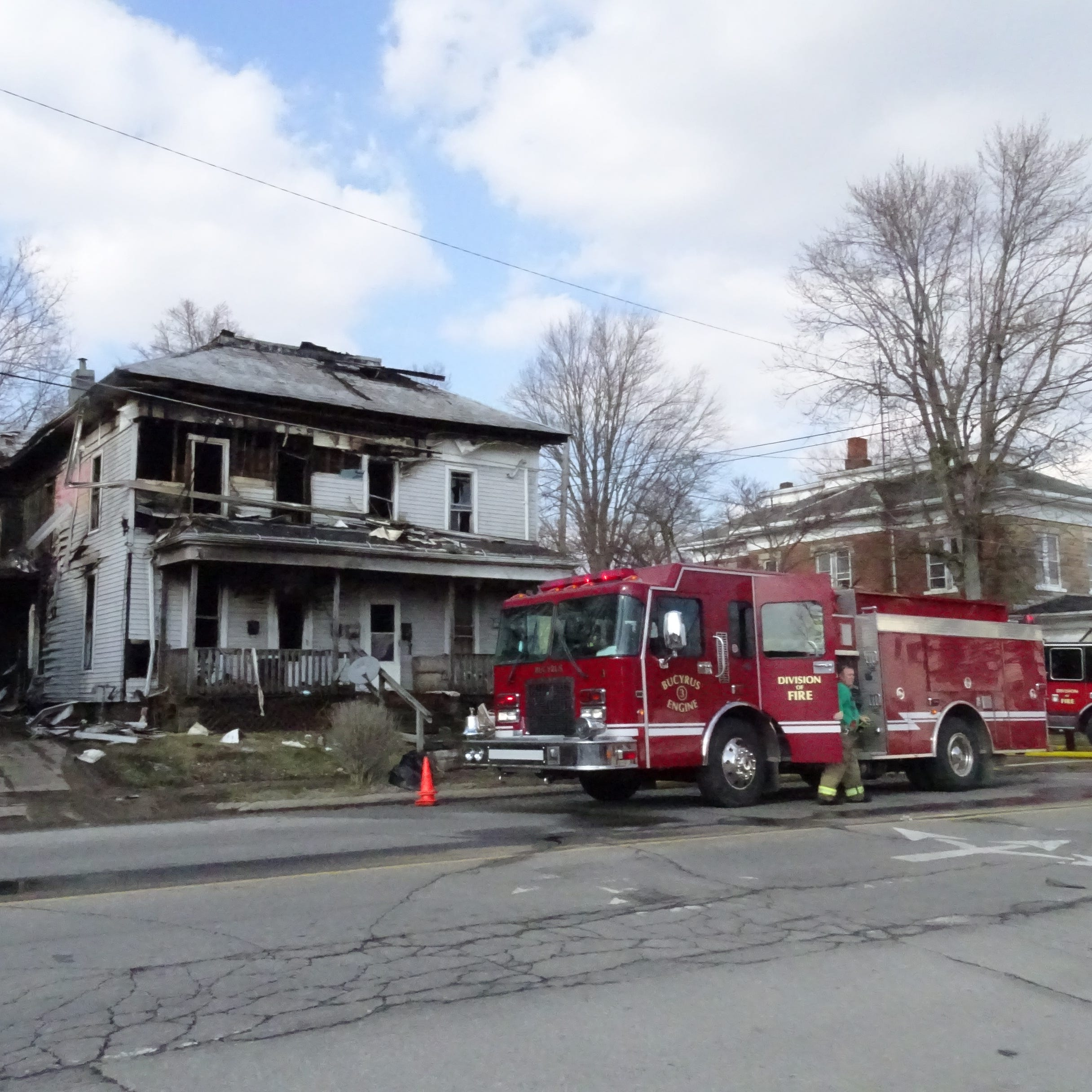 Investigation into West Mansfield Street fire on hold, prosecutor says