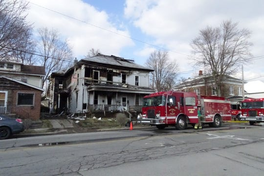 An investigation into a suspicious fire on March 19 at 304 W. Mansfield St. is on hold because the suspect is in the hospital with mental health concerns, Crawford County Prosecutor Matthew Crall said.