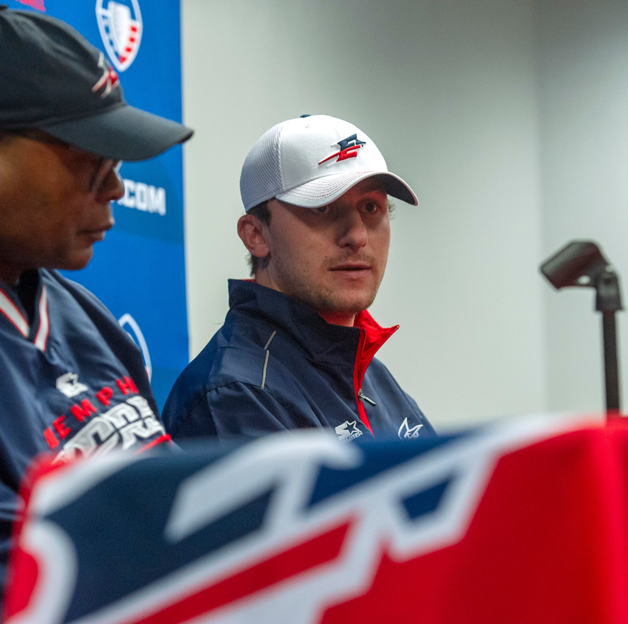 AAF tight-lipped about expectations for Memphis Express' Johnny Manziel away from football