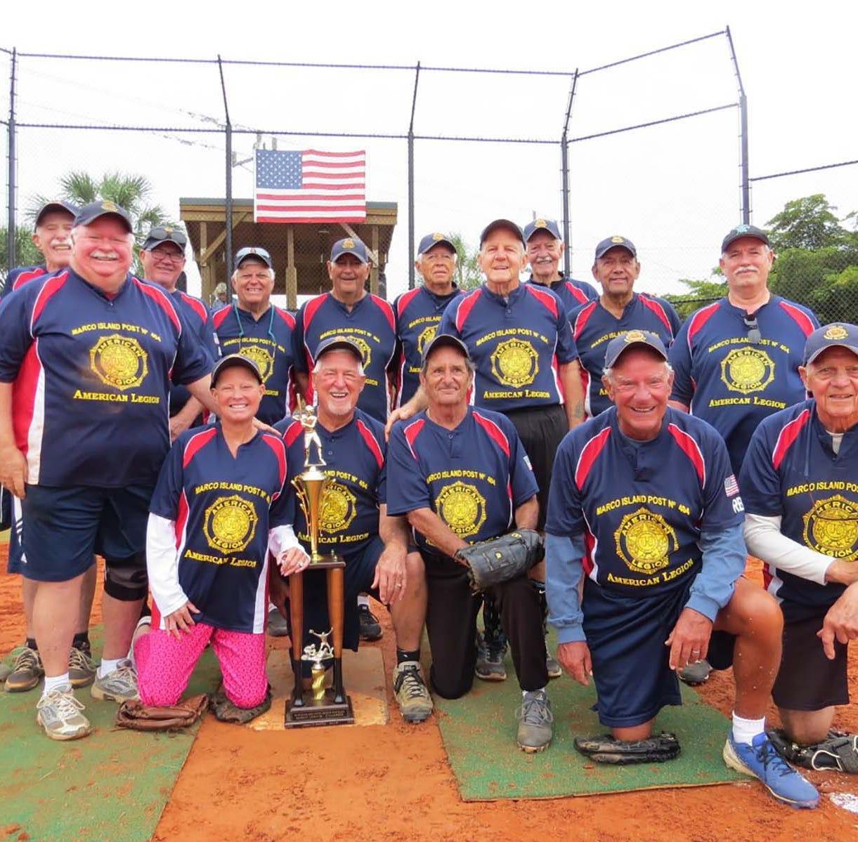 Senior Softball: American Legion Post is Gulf Coast divisional champions