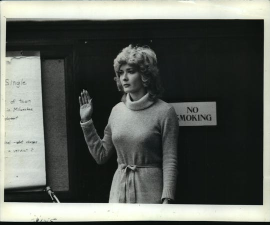 Lawrencia Bembenek took the witness stand briefly during her 1982 trial.
