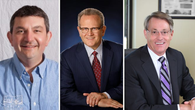 Jason Fox (from left), Kevin Steiner and Mark Mohr lead companies that were recognized in the Journal Sentinel's Top Workplaces program.