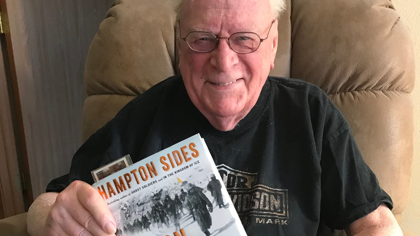 Bestselling author traveling on Honor Flight with Korean War