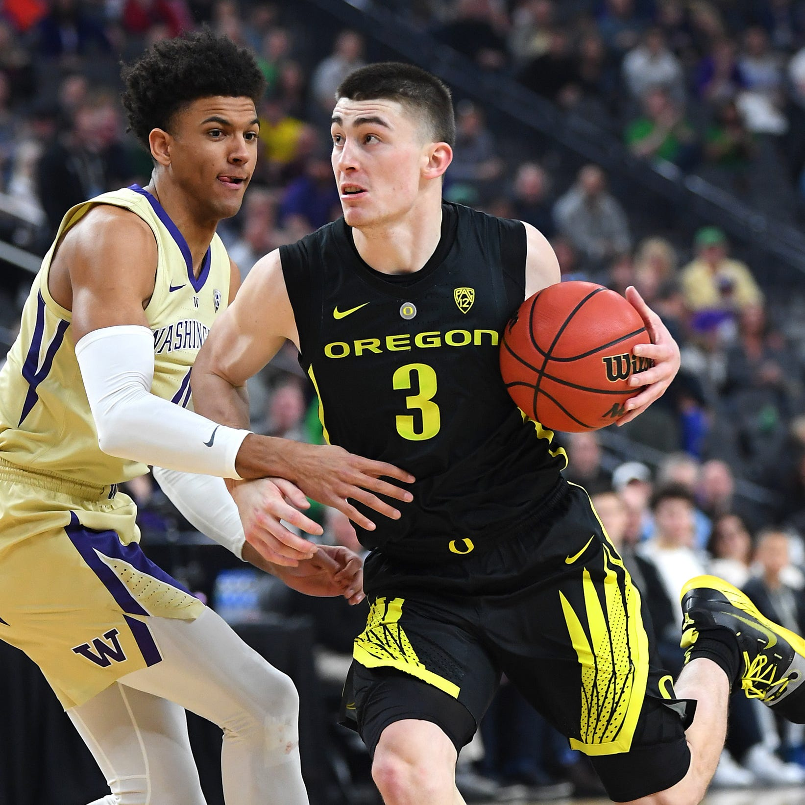 Wisconsin coveted Oregon's Payton Pritchard. Now they'll have to play against him
