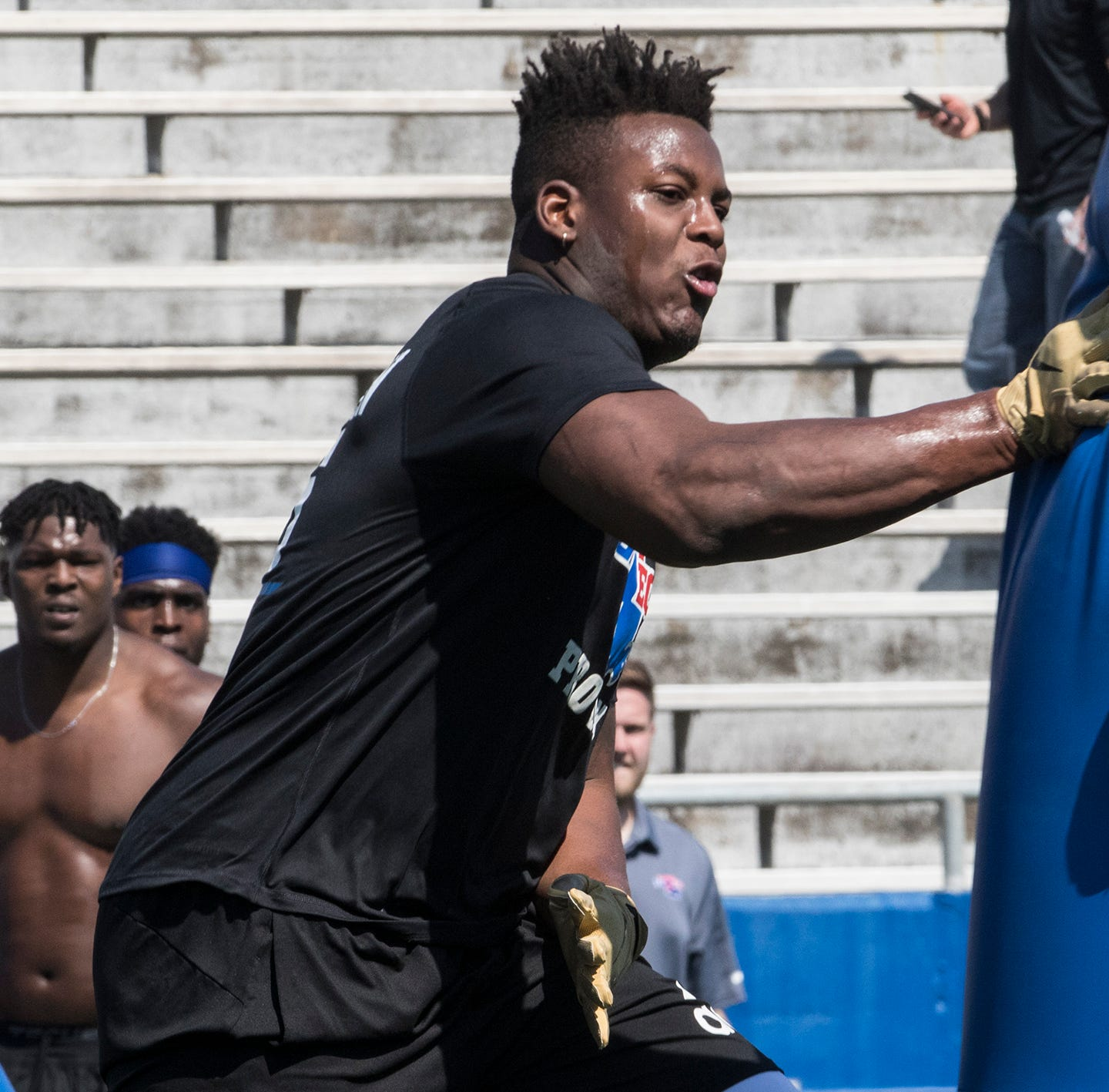 'What you missed': LA Tech's Ferguson shakes off NFL combine ordeal, shines at Pro Day