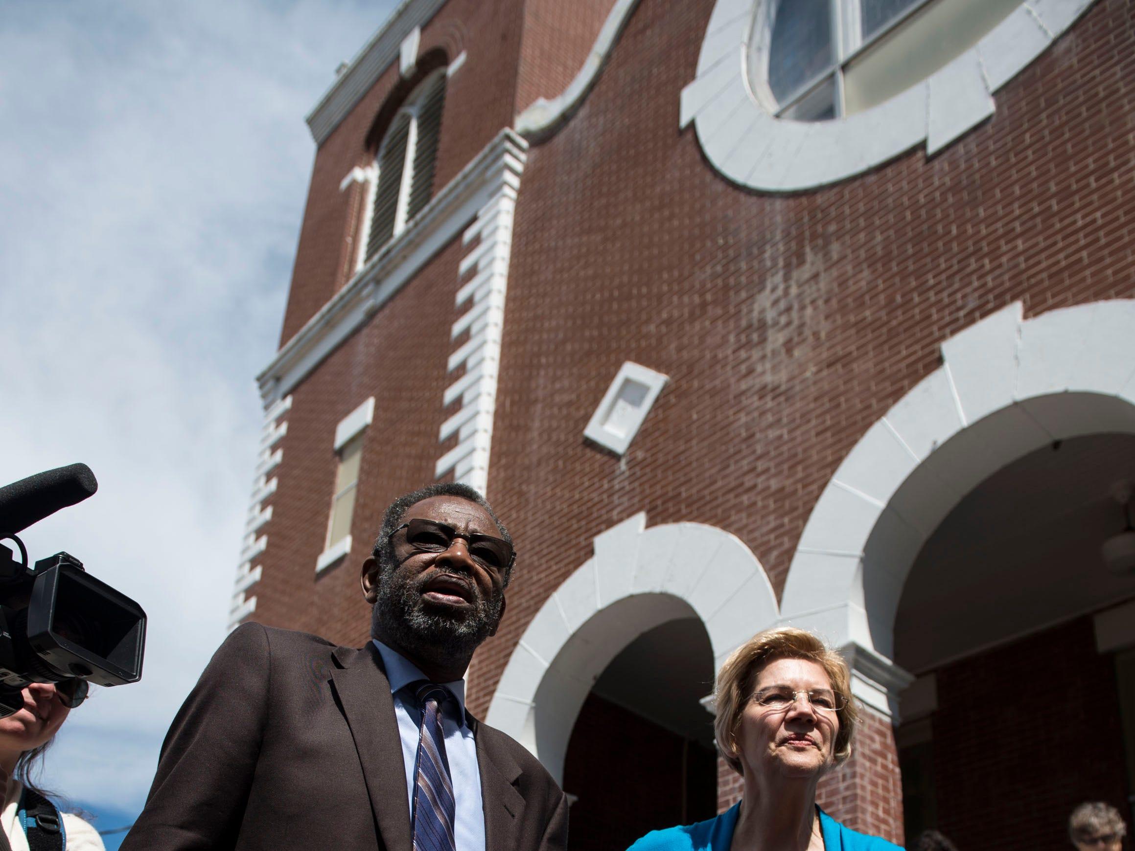 Elizabeth Warren talks housing, voting rights, and more in Selma visit