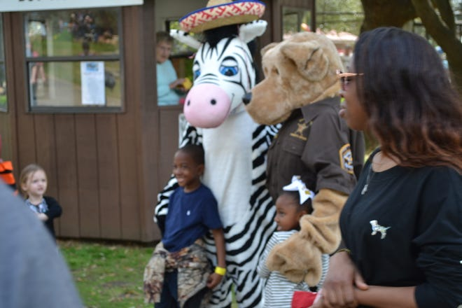 Zoobedoo and other special guests will be on hand Friday and Saturday at the Montgomery Zoo.