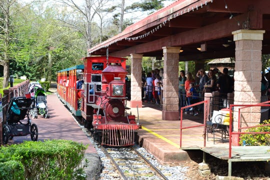 The train will be running Saturday and Sunday during Zoo Weekend at the Montgomery Zoo.