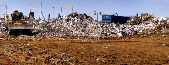 Located in the Walter Hill community north of Murfreesboro city limits, Middle Point accepts trash from 34 Middle Tennessee counties, including Davidson County. The landfill is expected to be full in eight to nine years.
