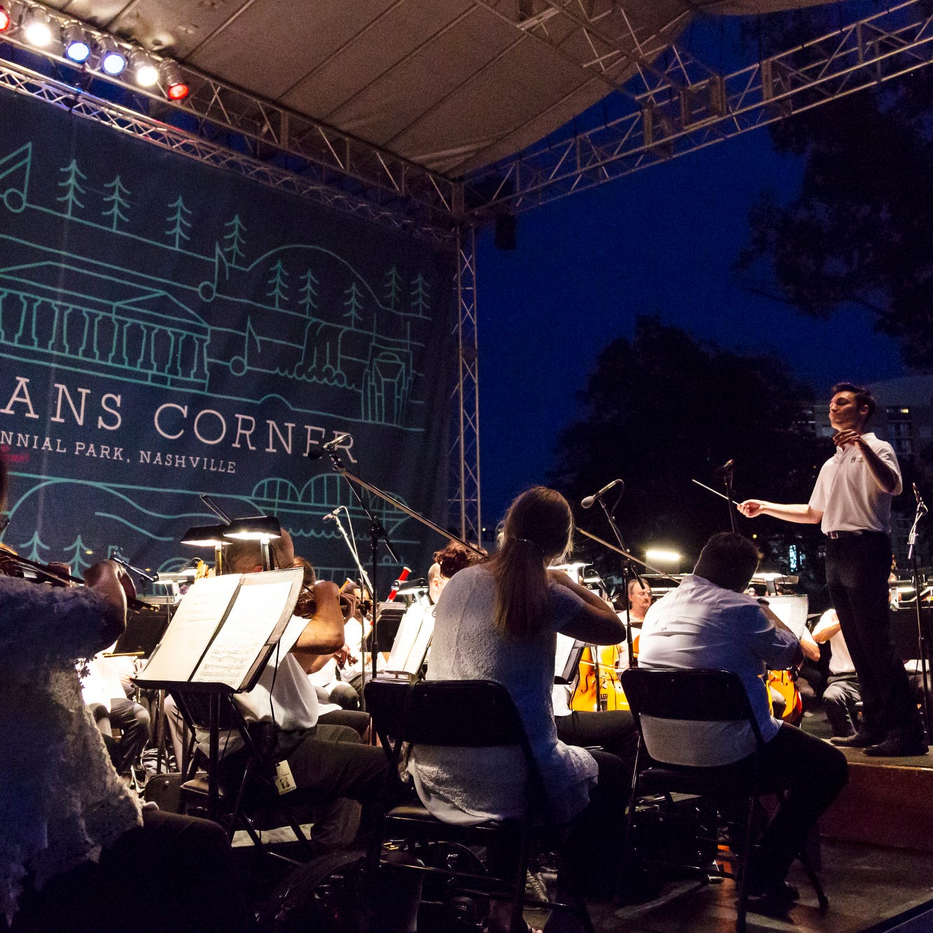 Pack a picnic and watch the Nashville Symphony outdoors for free this summer