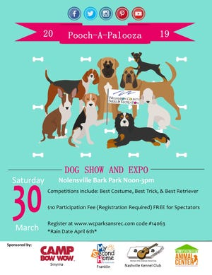 Pooch-A-Palooza flyer