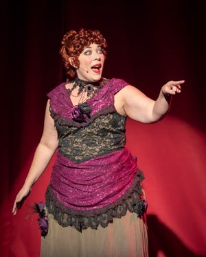 """Becca McCoy in """"The Mystery of Edwin Drood"""""""