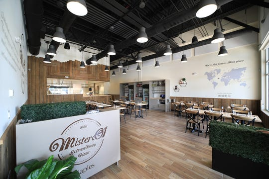 Mister O1 Extraordinary Pizza opened in March 2019 in the Galleria Shoppes at Vanderbilt, 2355 Vanderbilt Beach Road, in North Naples.