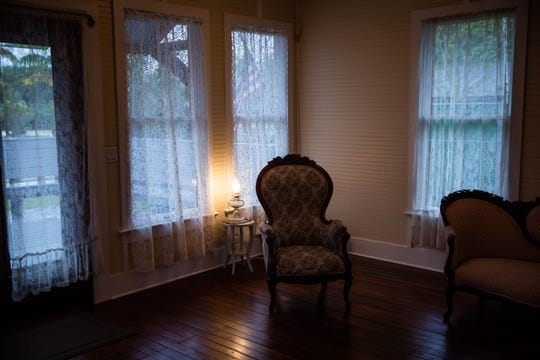 A view of the historic McSwain House in Bonita Springs on March 19, 2019. With recent renovations, the Bonita Springs Historical Society has aimed to make the space accommodating to the public as well as true to its history. To do this, the home has been furnished with items true to the period.