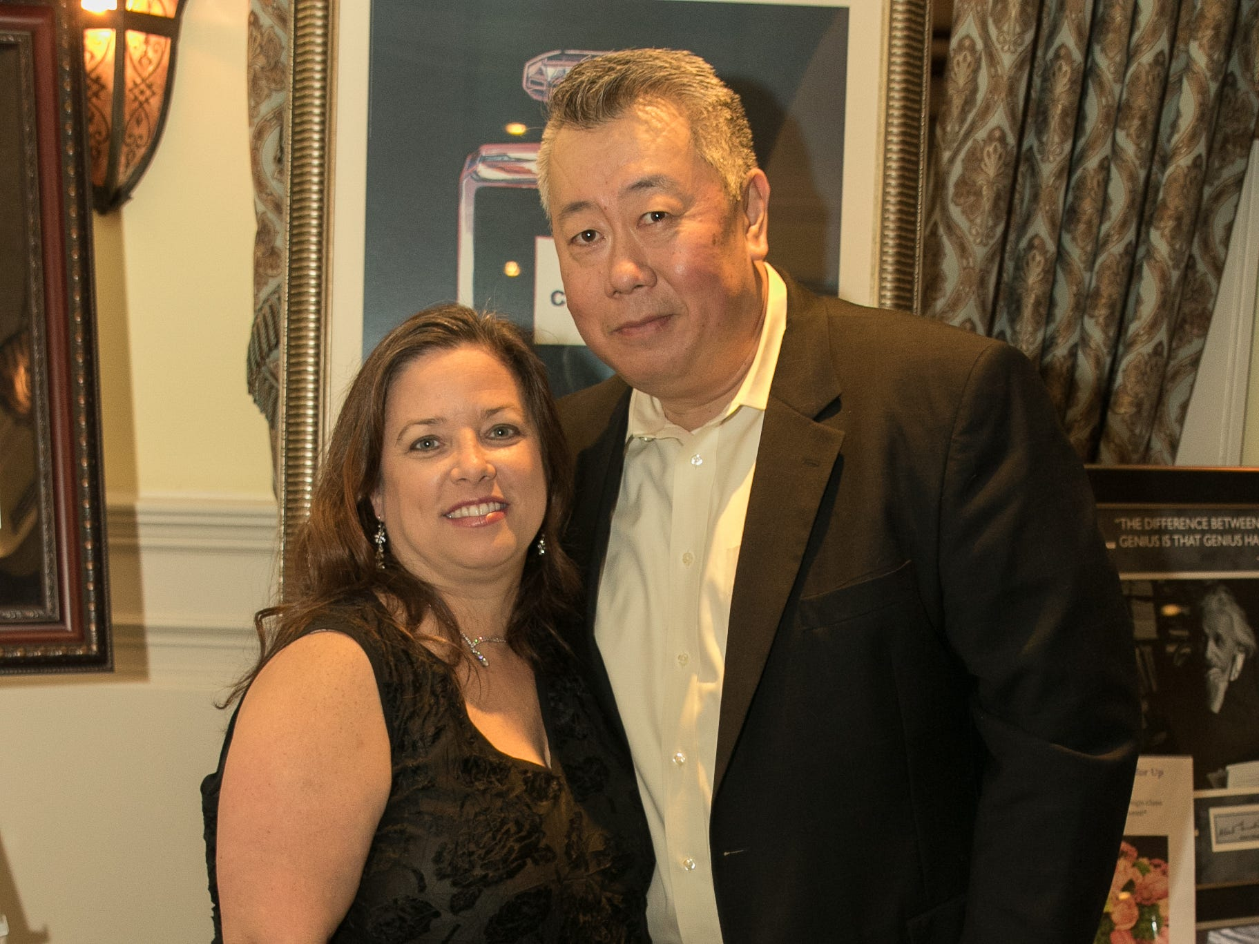 Michele and Louis Miao. The Emmanuel Cancer Foundation 9th Annual Bash at The Brick House. 03/15/2019