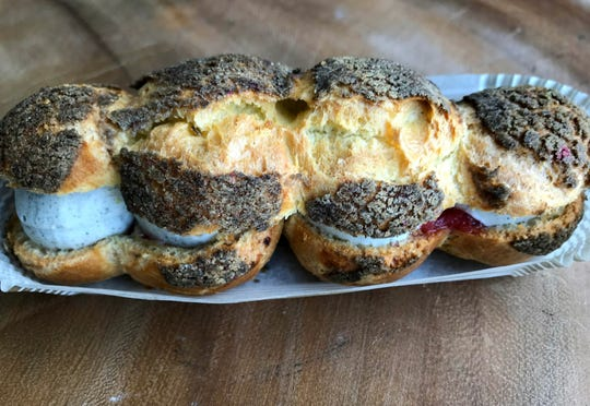 (Esther Davidowitz to caption) Westwood Food Crawl Tuesday, March 19, 2019