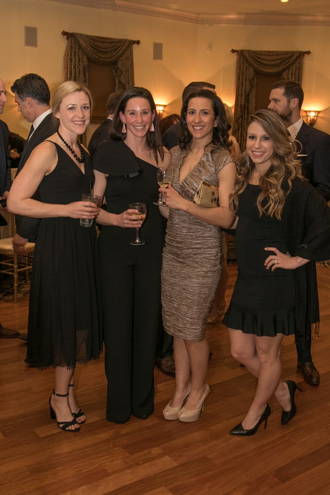 Kelly Cavin, Meghan Rypkema, Joanna Laub, Annie Cullinane. The Emmanuel Cancer Foundation 9th Annual Bash at The Brick House. 03/15/2019