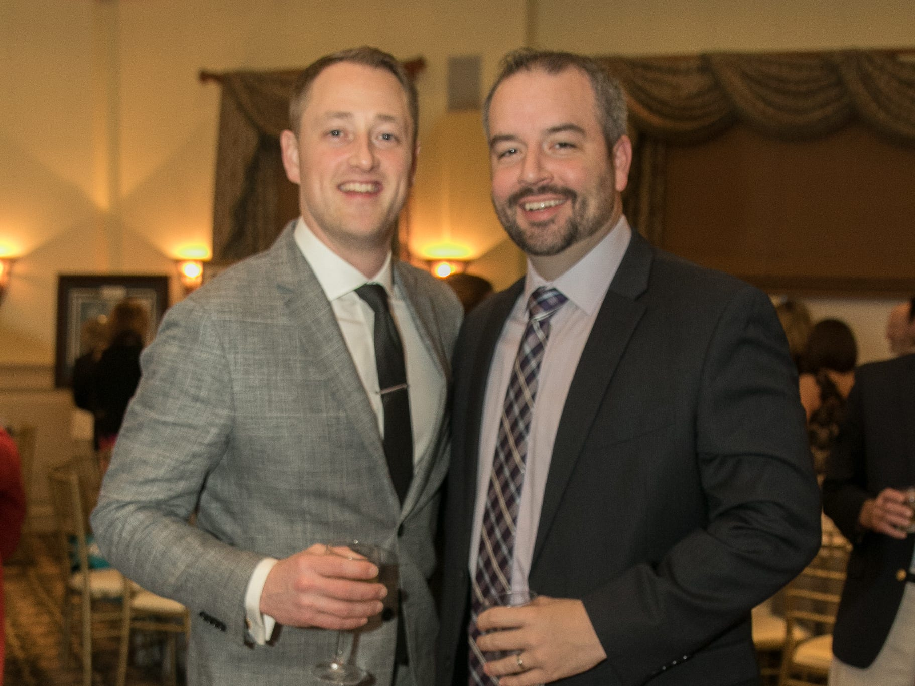 Adam Laub, Brian Cullinane. The Emmanuel Cancer Foundation 9th Annual Bash at The Brick House. 03/15/2019