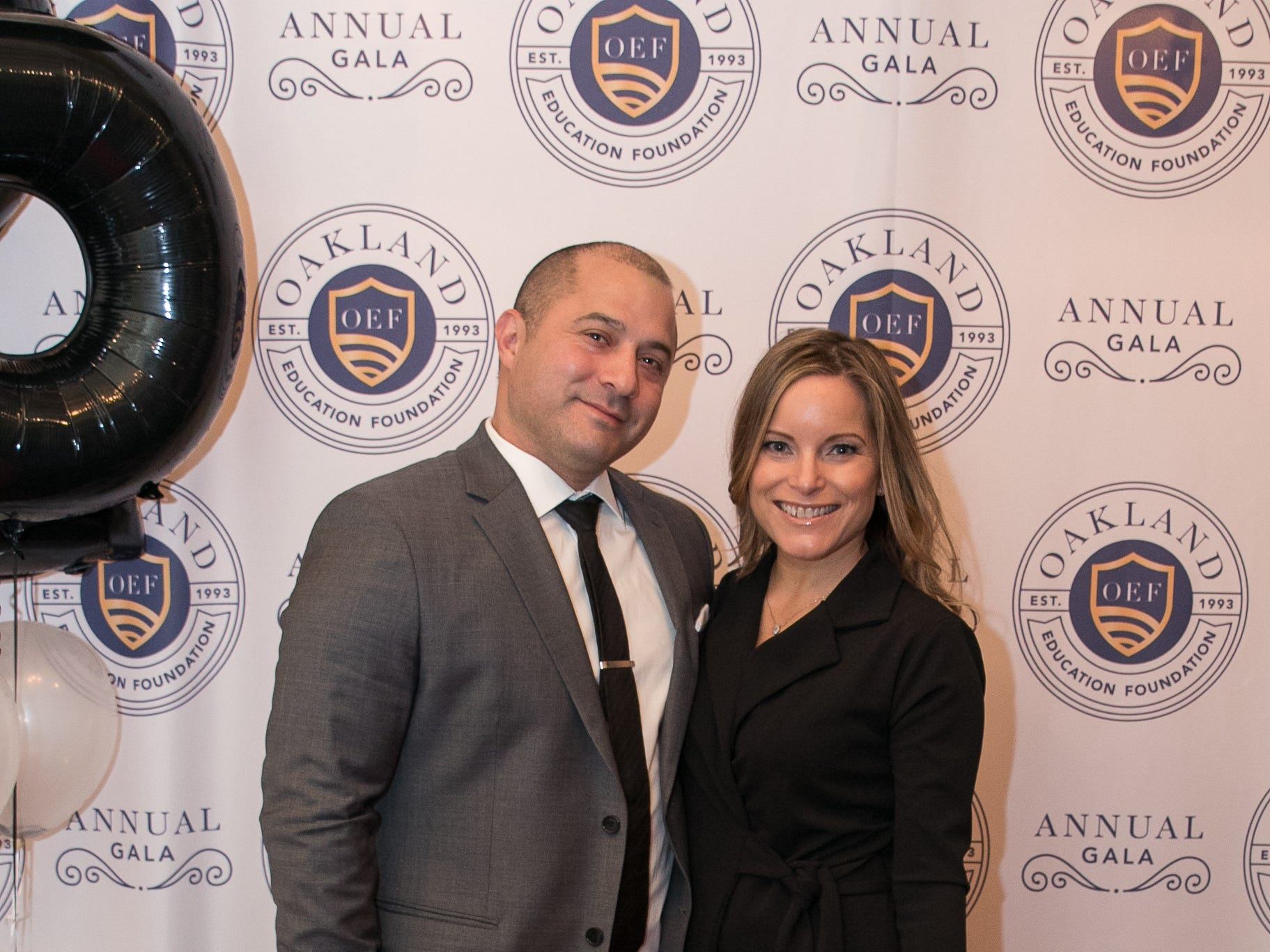 Jeff Ramirez, Lori Nittoli. The Oakland Education Foundation held their 25th Anniversary Casino Night Gala at Preakness Hills Country Club in Wayne. 03/16/2019