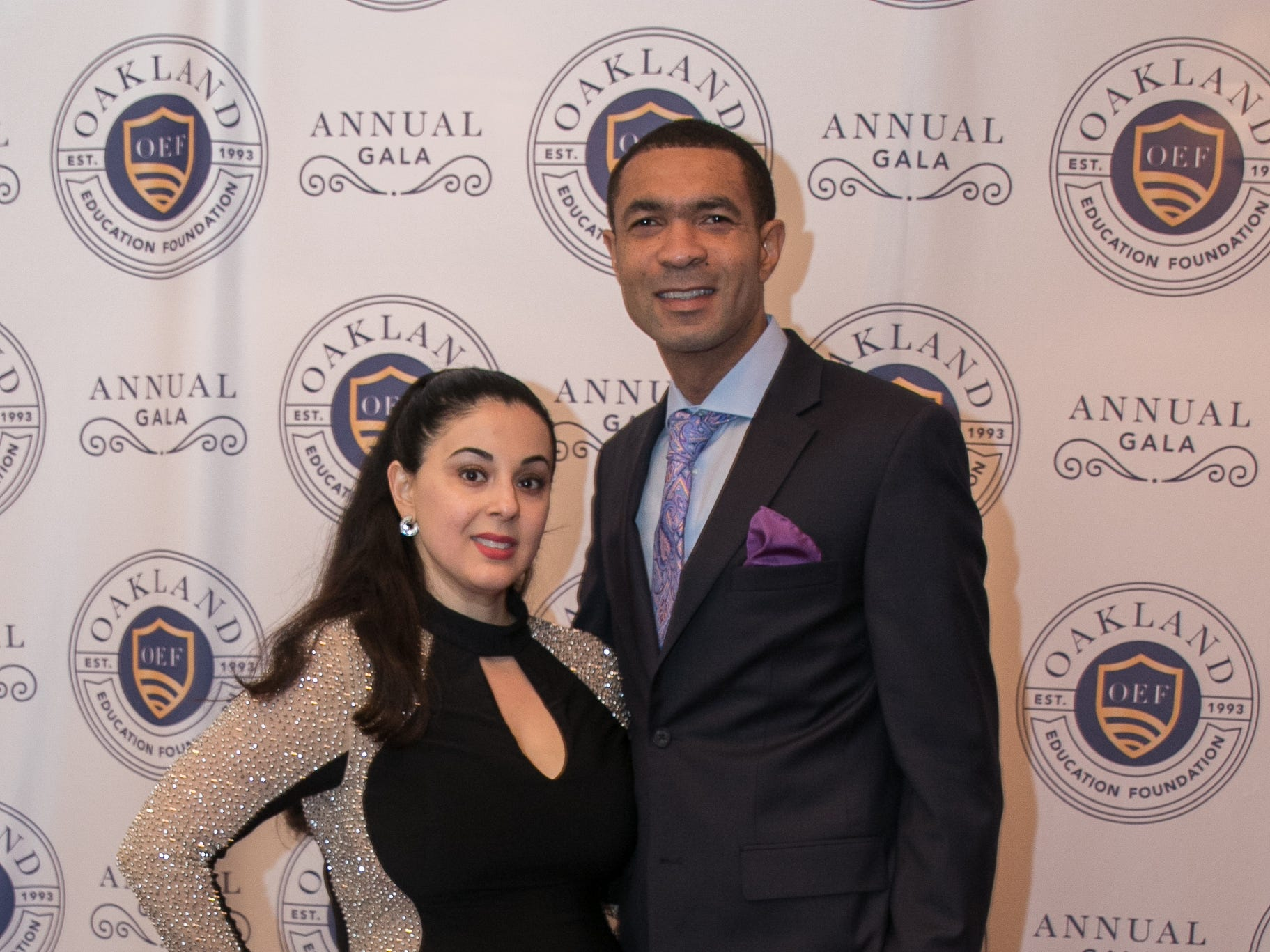 Maryam and Gregg Robinson. The Oakland Education Foundation held their 25th Anniversary Casino Night Gala at Preakness Hills Country Club in Wayne. 03/1