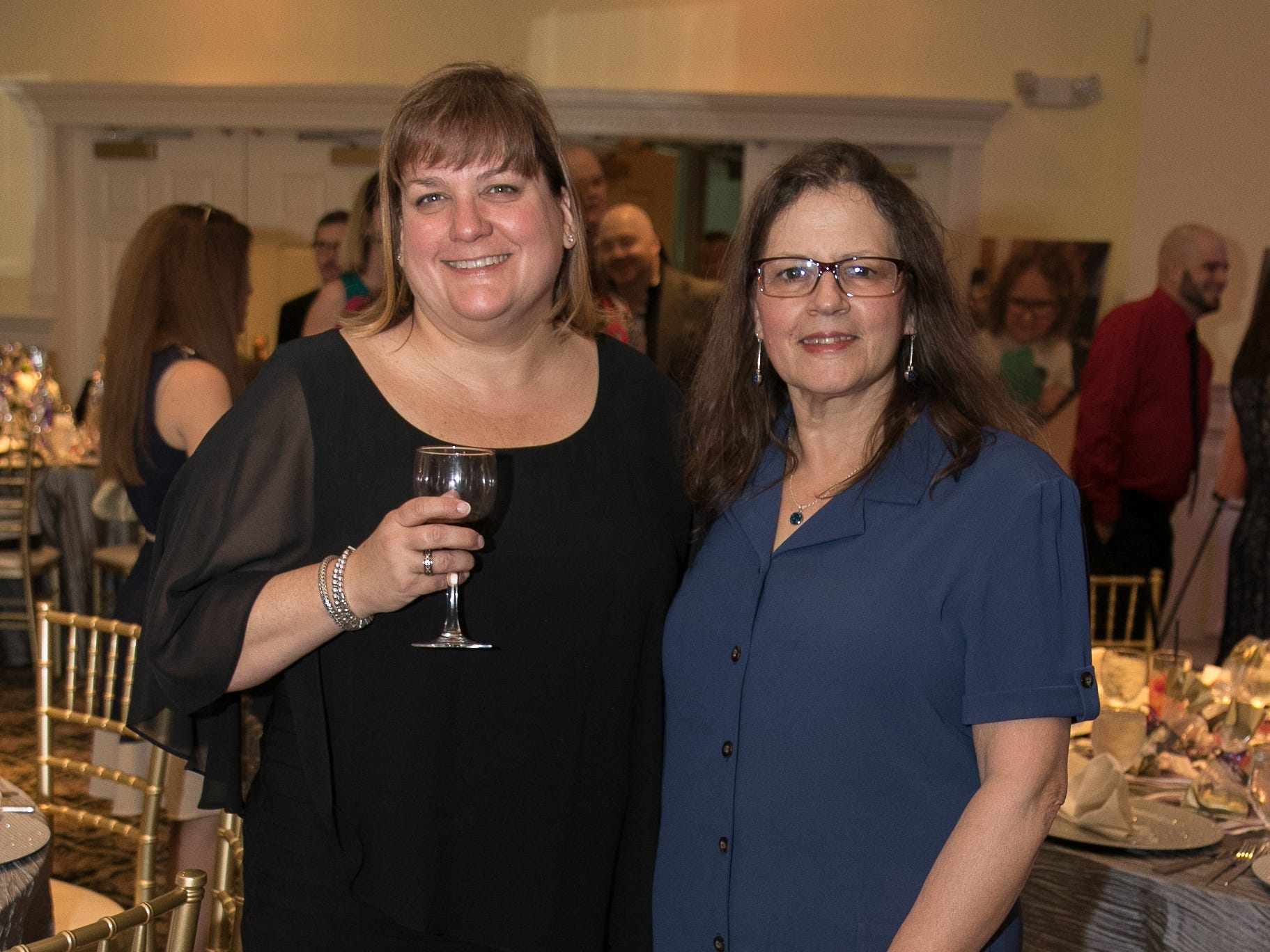 Teresa Golin, Sue Quimby. The Emmanuel Cancer Foundation 9th Annual Bash at The Brick House. 03/15/2019