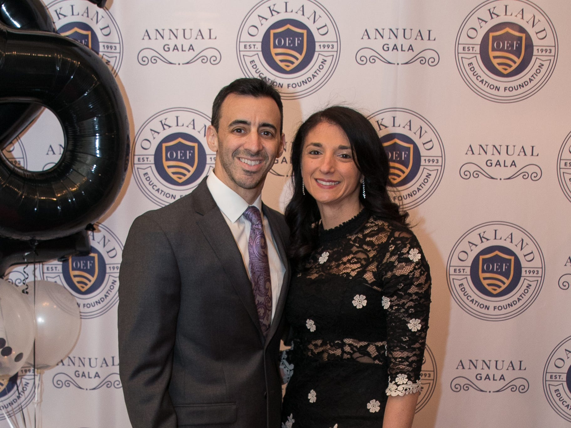 Jon and Tiffany Cohen. The Oakland Education Foundation held their 25th Anniversary Casino Night Gala at Preakness Hills Country Club in Wayne. 03/16/2019