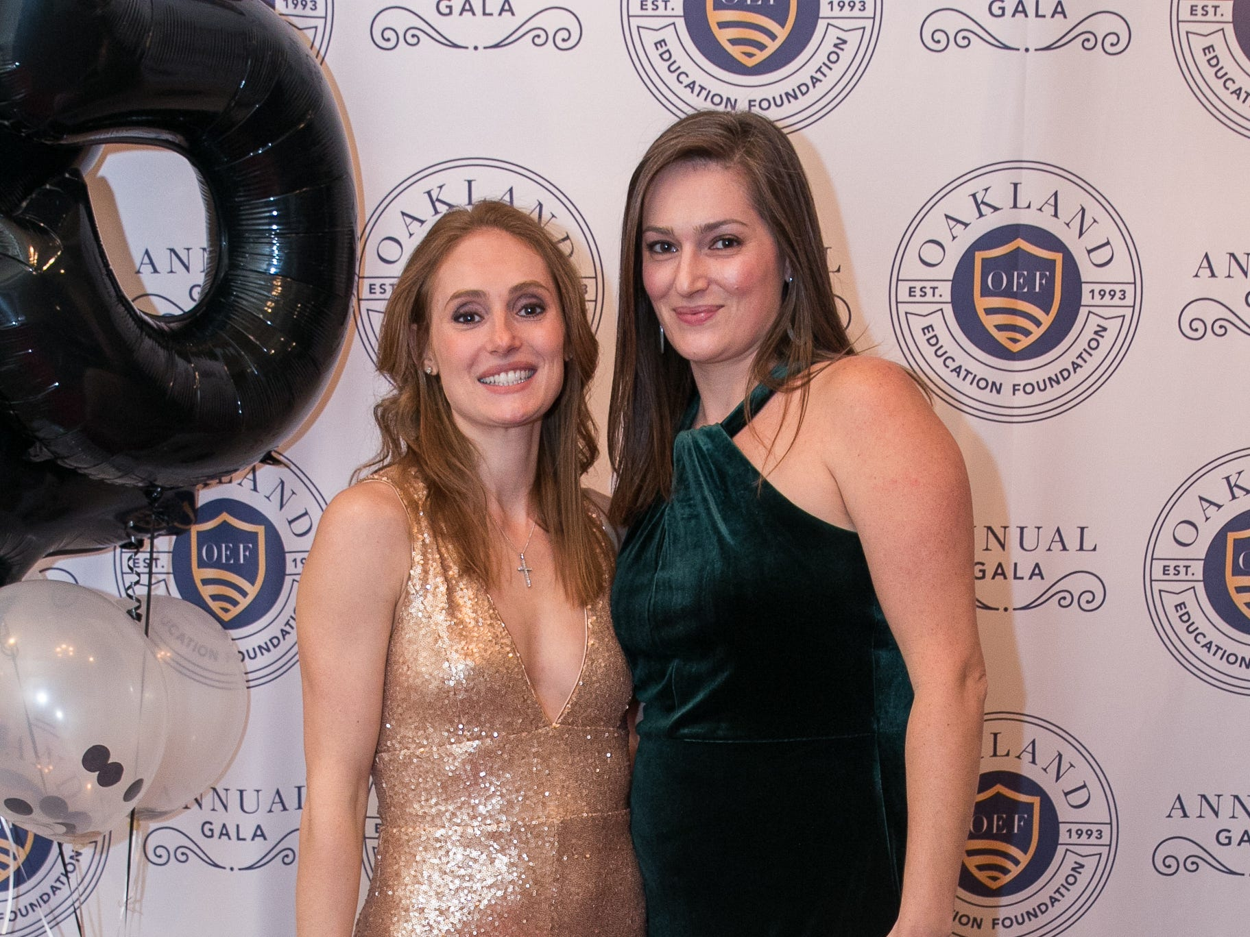 Jackie Wall, Danielle Battell. The Oakland Education Foundation held their 25th Anniversary Casino Night Gala at Preakness Hills Country Club in Wayne. 03/16/2019