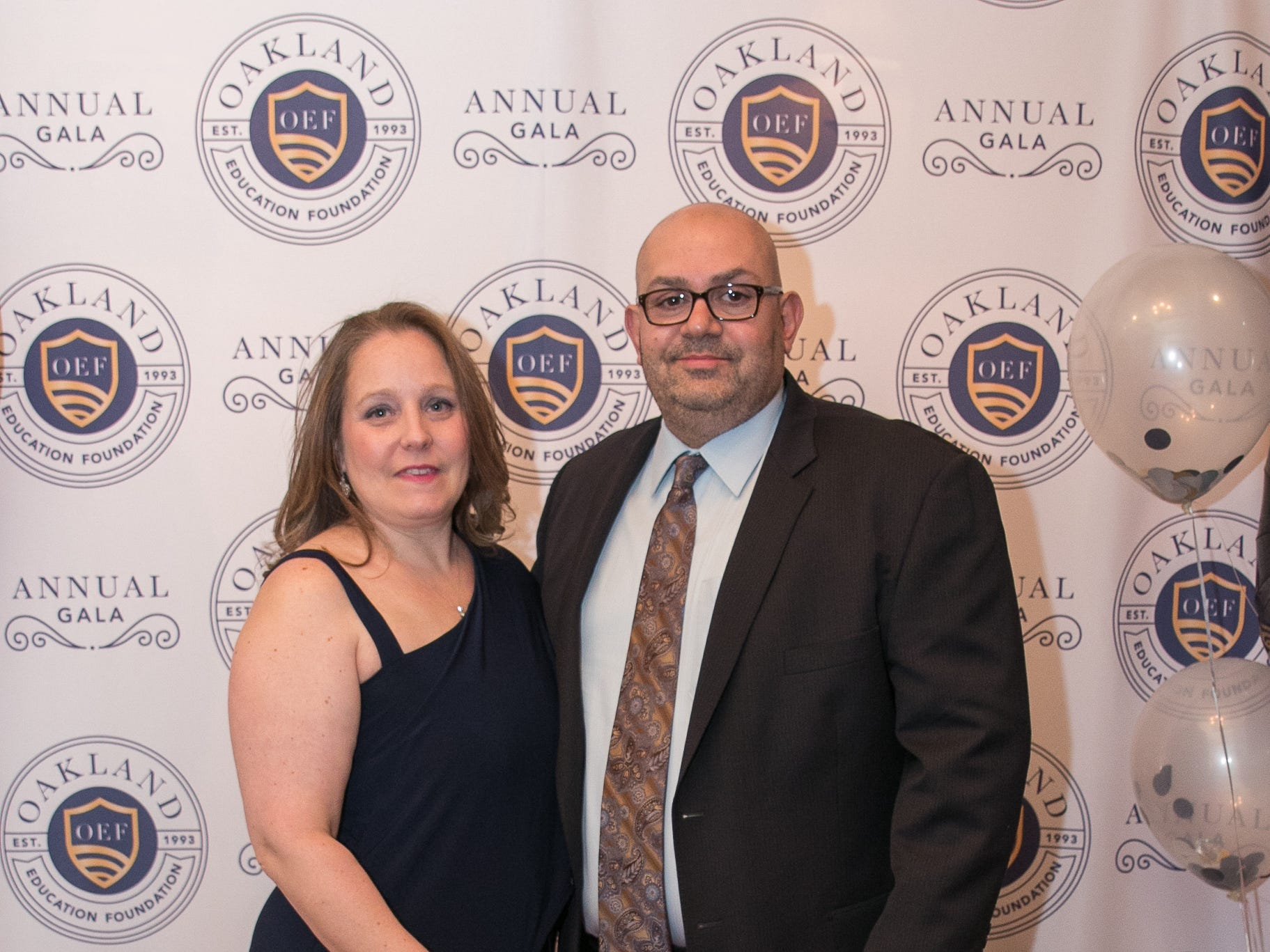 Alisha and Frank. The Oakland Education Foundation held their 25th Anniversary Casino Night Gala at Preakness Hills Country Club in Wayne. 03/16/2019
