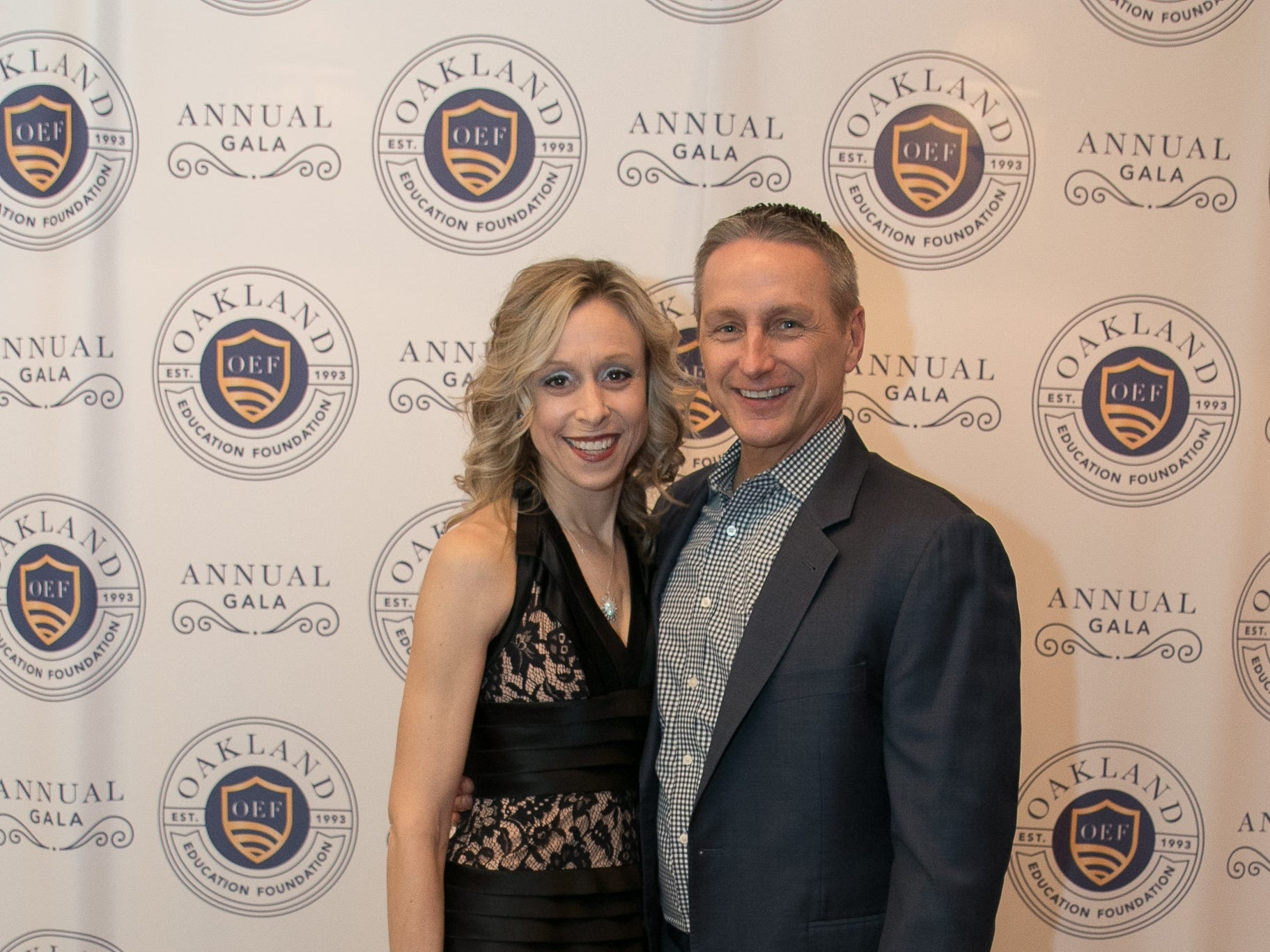Lara and Tom Popeck. The Oakland Education Foundation held their 25th Anniversary Casino Night Gala at Preakness Hills Country Club in Wayne. 03/16/2019
