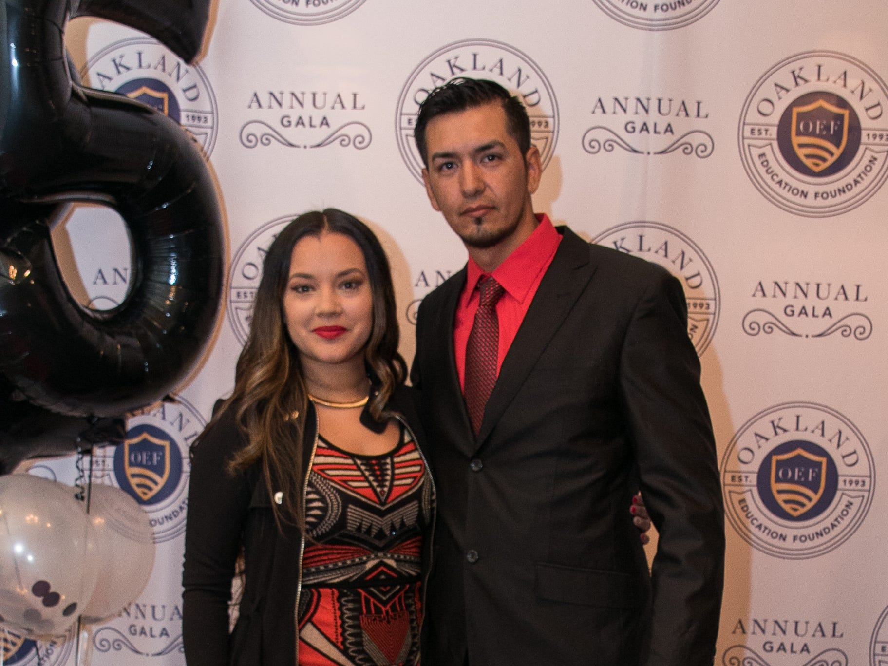 Karla Giorlando, Pablo Rodriguez. The Oakland Education Foundation held their 25th Anniversary Casino Night Gala at Preakness Hills Country Club in Wayne. 03/16/2019