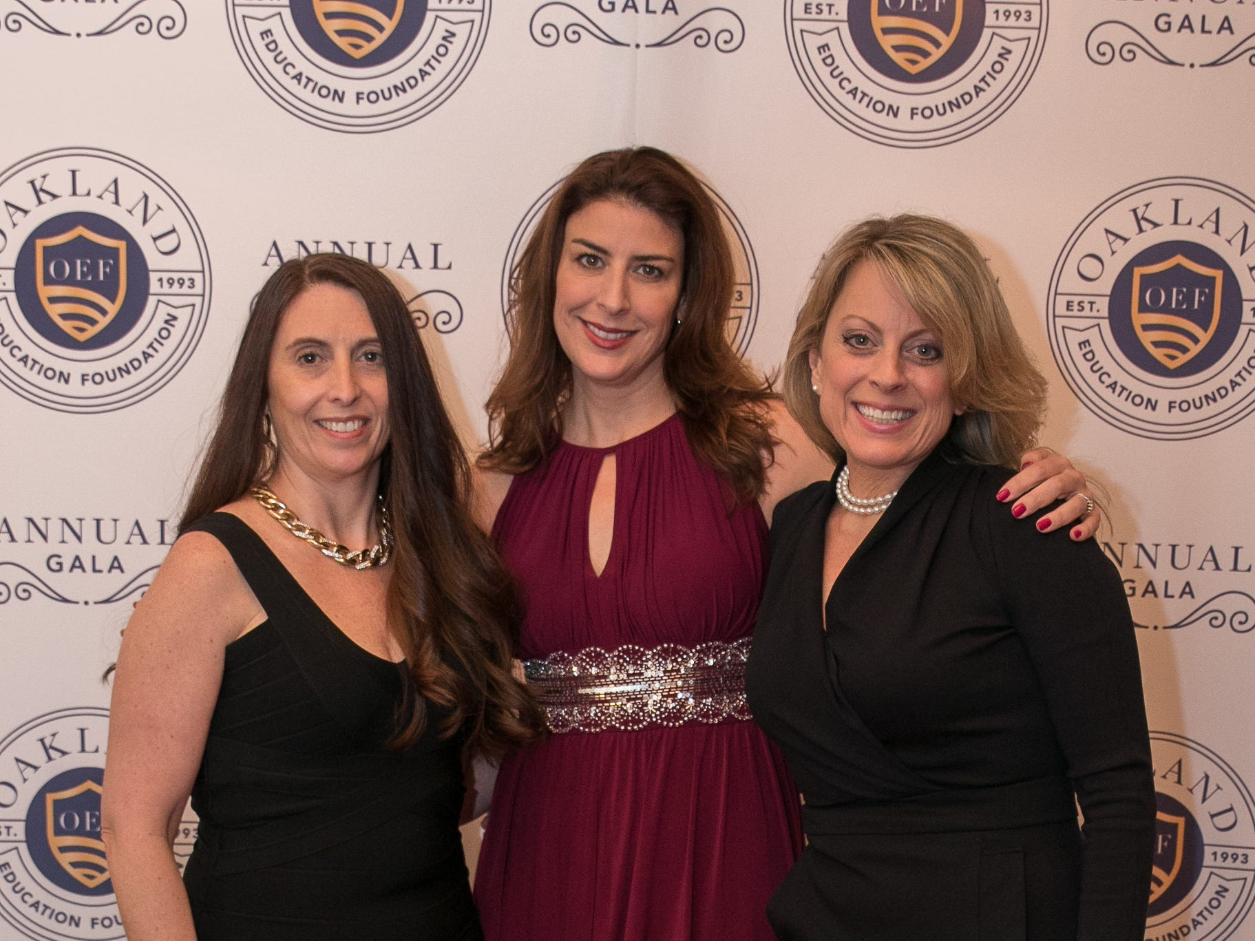 Kerry Forsdale, Tanya Mackenzie, Michelle Bardgett. The Oakland Education Foundation held their 25th Anniversary Casino Night Gala at Preakness Hills Country Club in Wayne. 03/16/2019