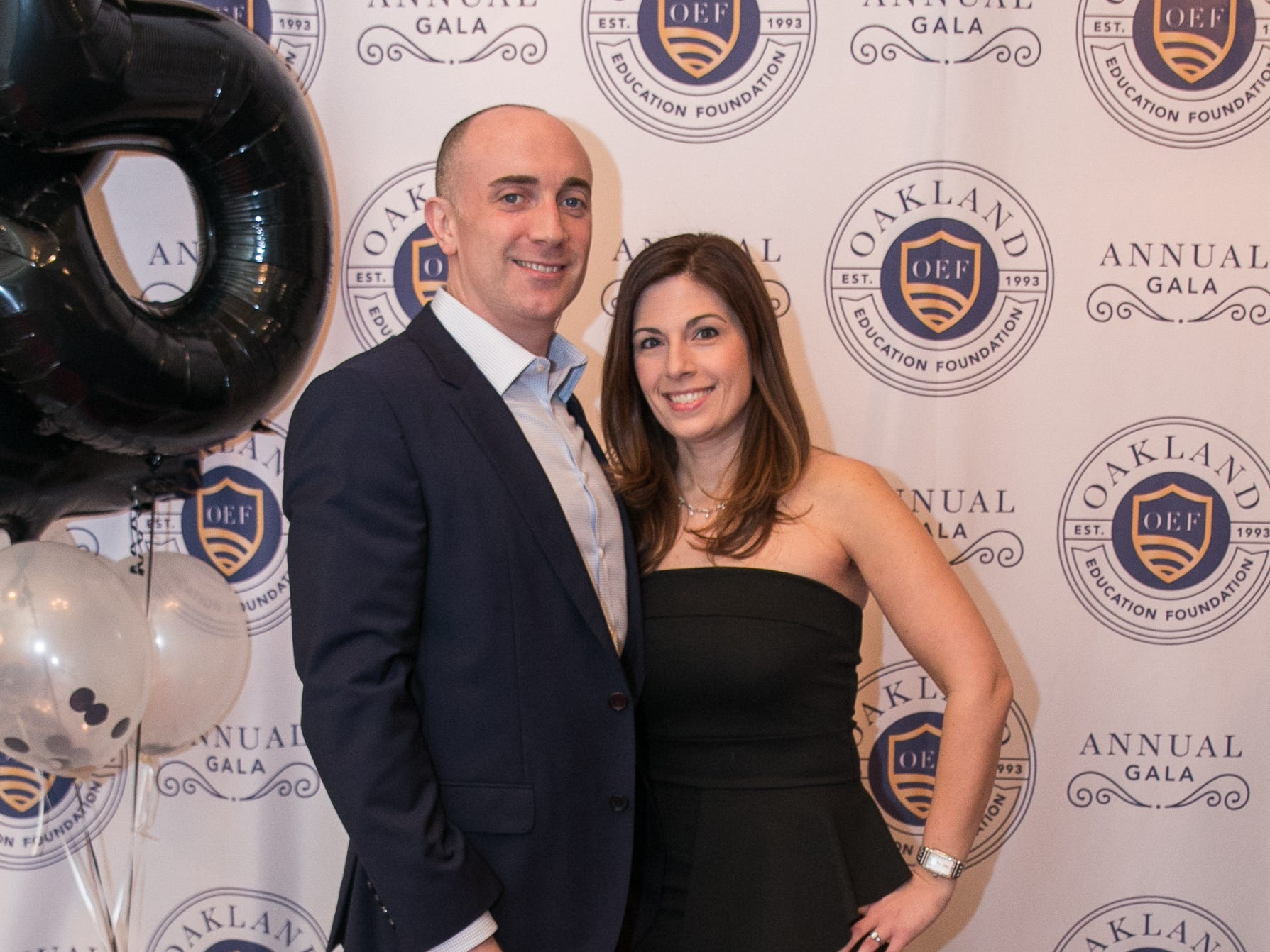 Mike and Michelle Tompkins. The Oakland Education Foundation held their 25th Anniversary Casino Night Gala at Preakness Hills Country Club in Wayne. 03/16/2019