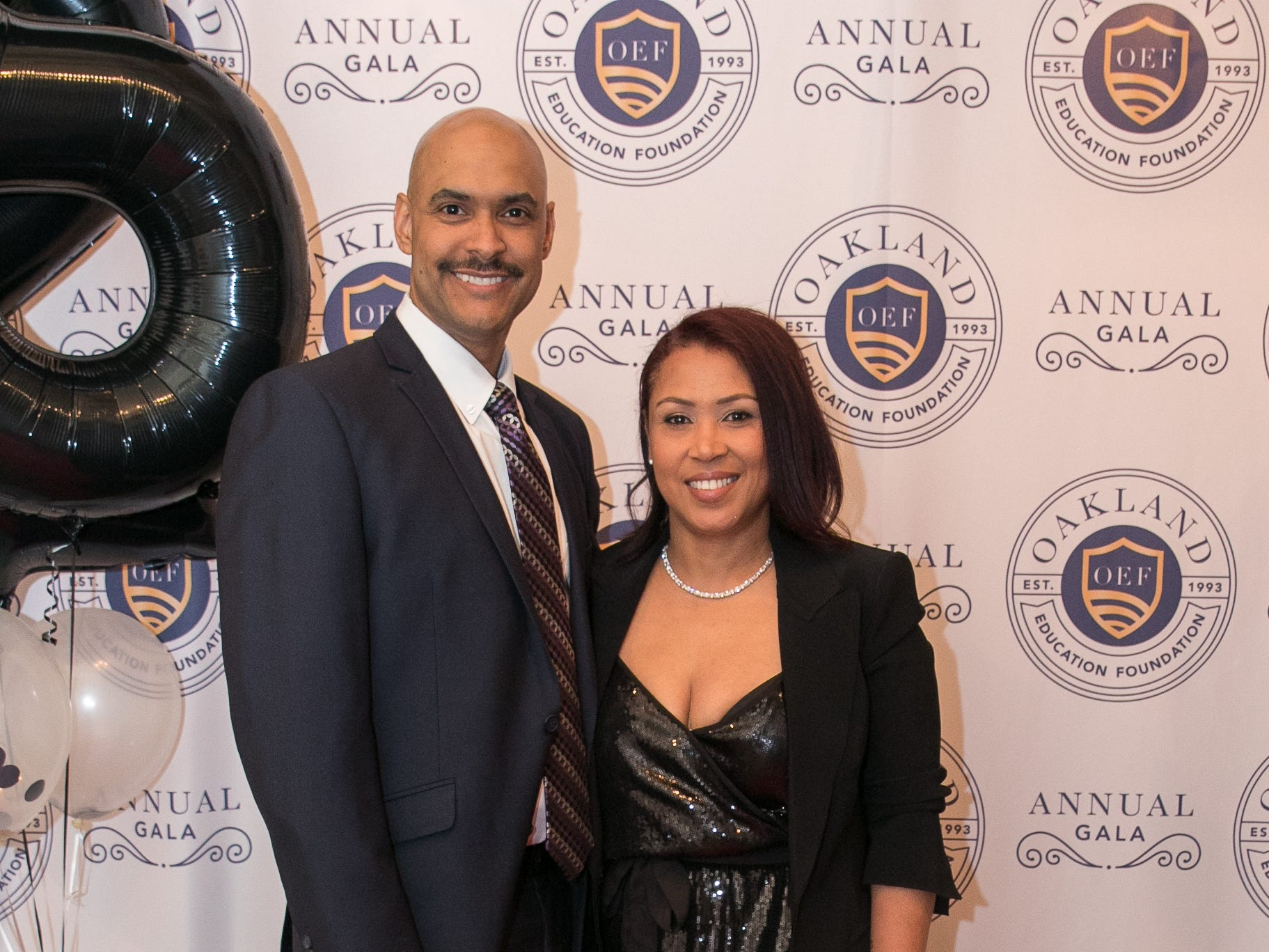 Cesar and Suleika Aredondo. The Oakland Education Foundation held their 25th Anniversary Casino Night Gala at Preakness Hills Country Club in Wayne. 03/16/2019
