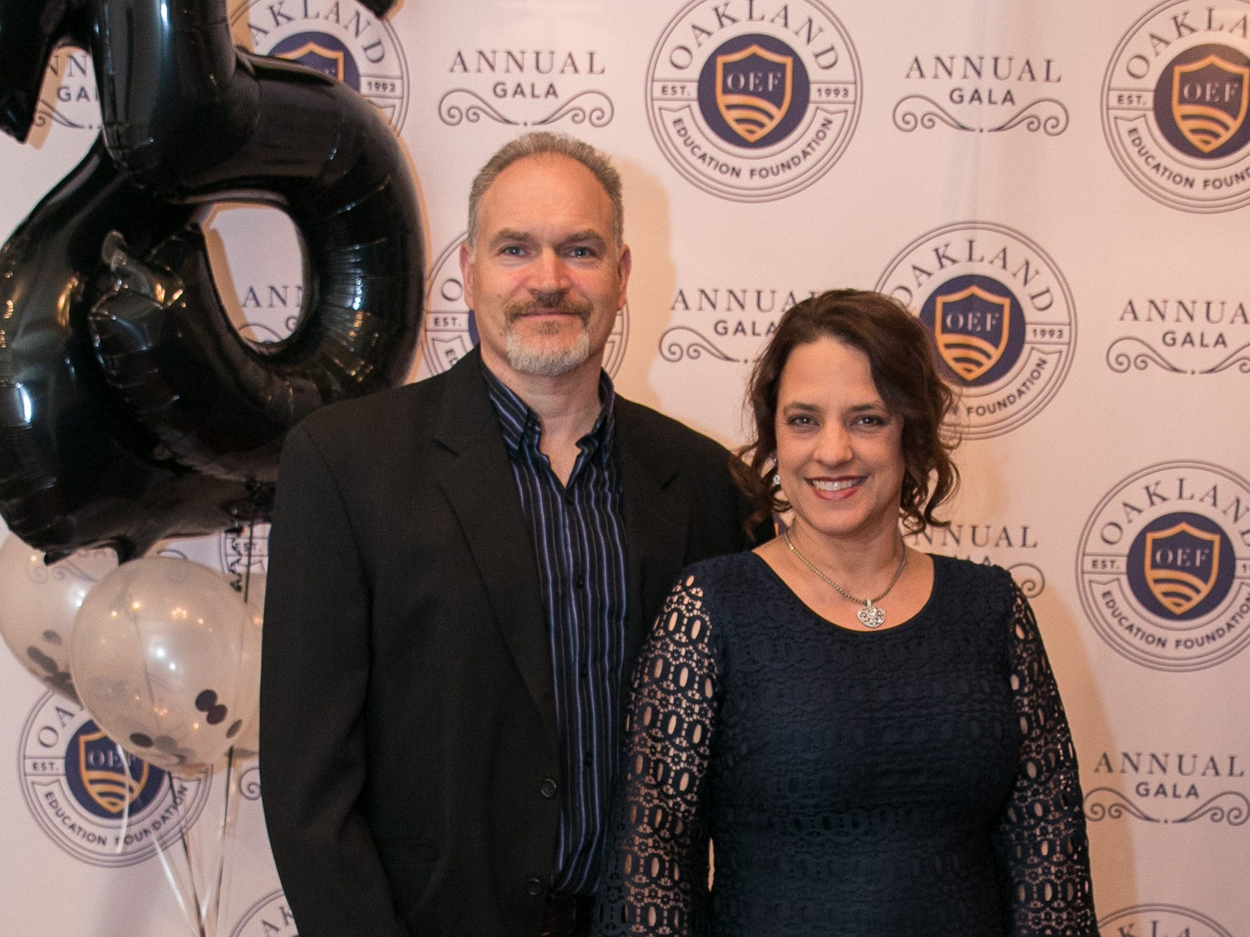 ANthony and April Masefield. The Oakland Education Foundation held their 25th Anniversary Casino Night Gala at Preakness Hills Country Club in Wayne. 03/16/2019