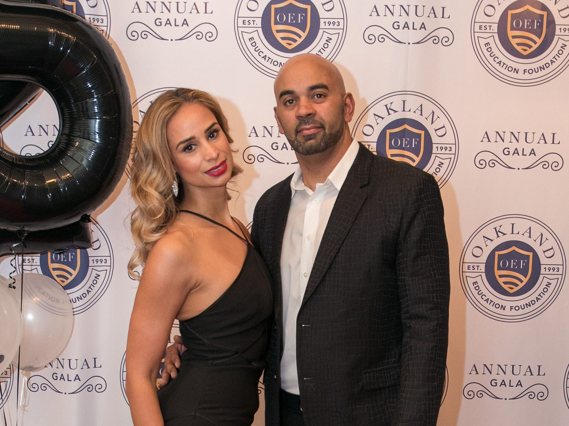 Claudia and Julio Luna/Perez. The Oakland Education Foundation held their 25th Anniversary Casino Night Gala at Preakness Hills Country Club in Wayne. 03/16/2019
