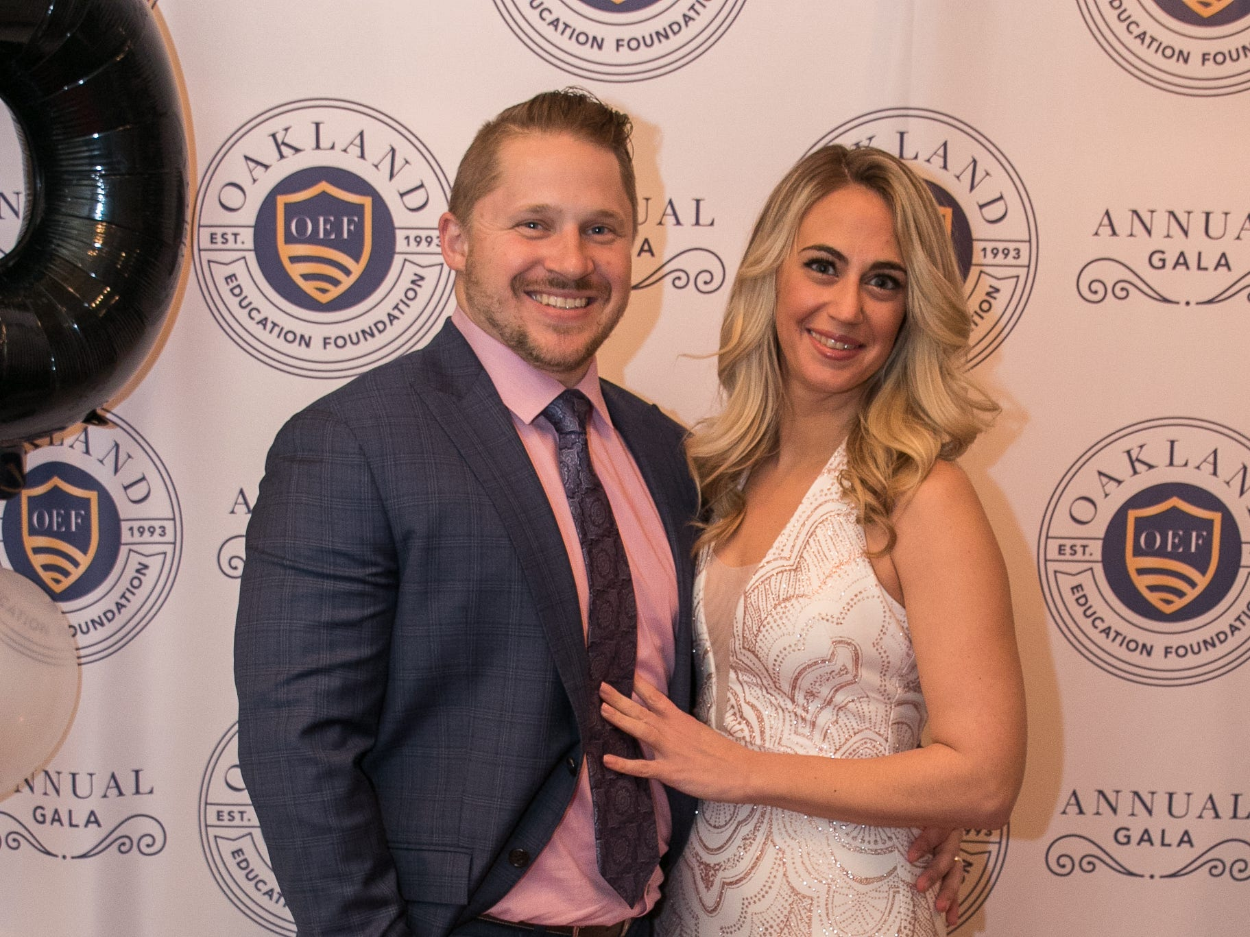 Tom and Katrina Larsen. The Oakland Education Foundation held their 25th Anniversary Casino Night Gala at Preakness Hills Country Club in Wayne. 03/16/2019