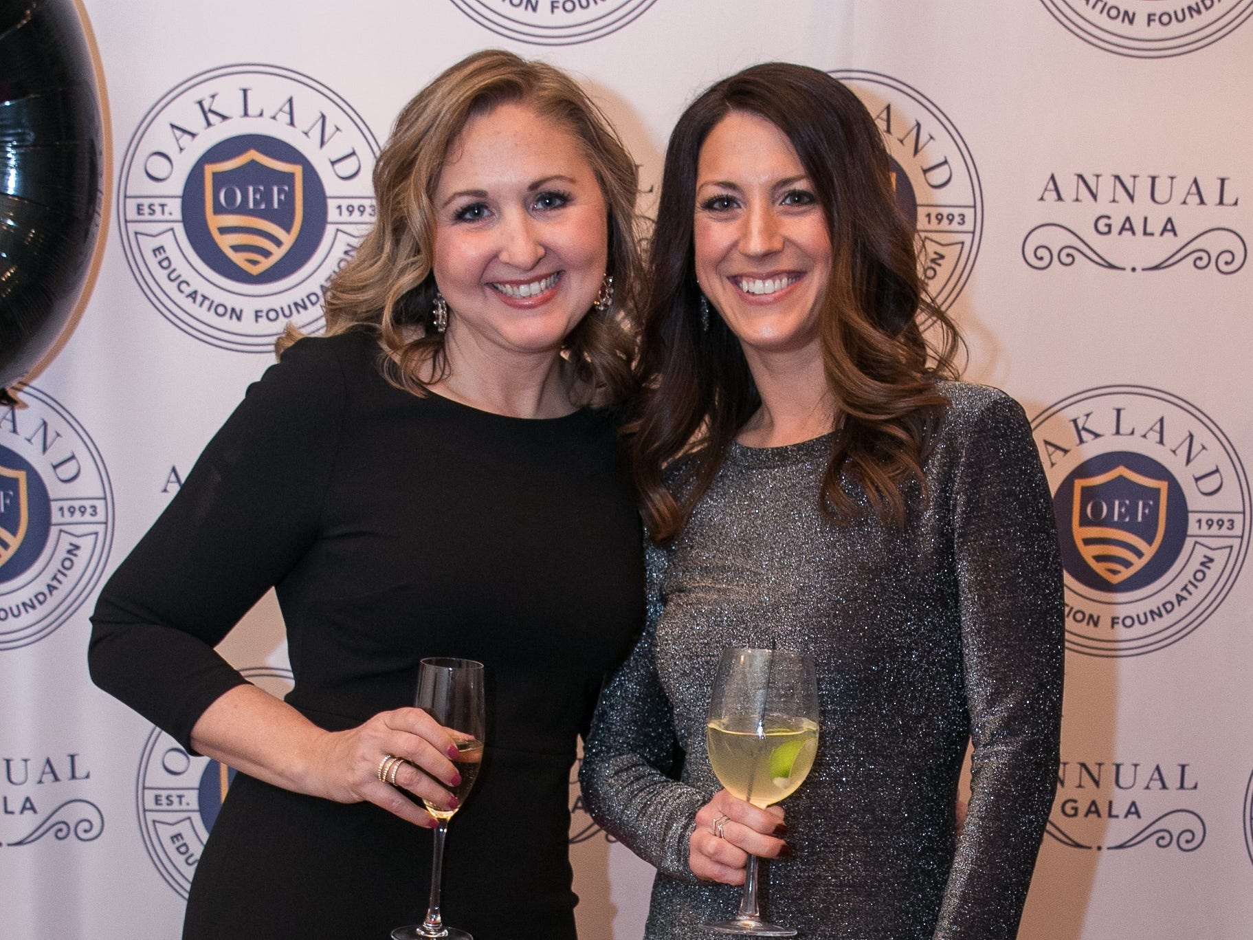 Alyson Dietrich, Lori Piccione. The Oakland Education Foundation held their 25th Anniversary Casino Night Gala at Preakness Hills Country Club in Wayne. 03/16/2019