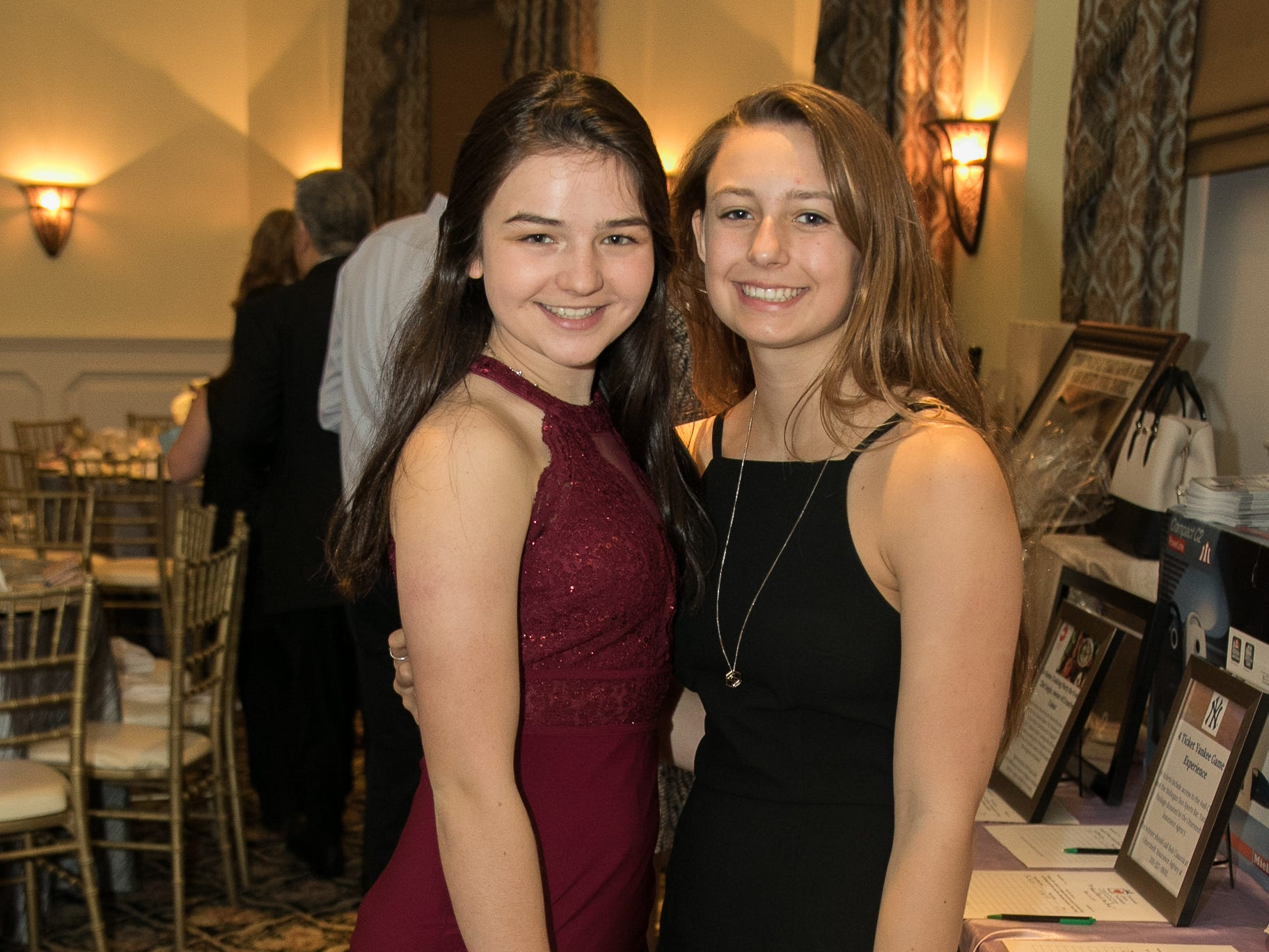 Lauren Diaz, Julia Caci. The Emmanuel Cancer Foundation 9th Annual Bash at The Brick House. 03/15/2019