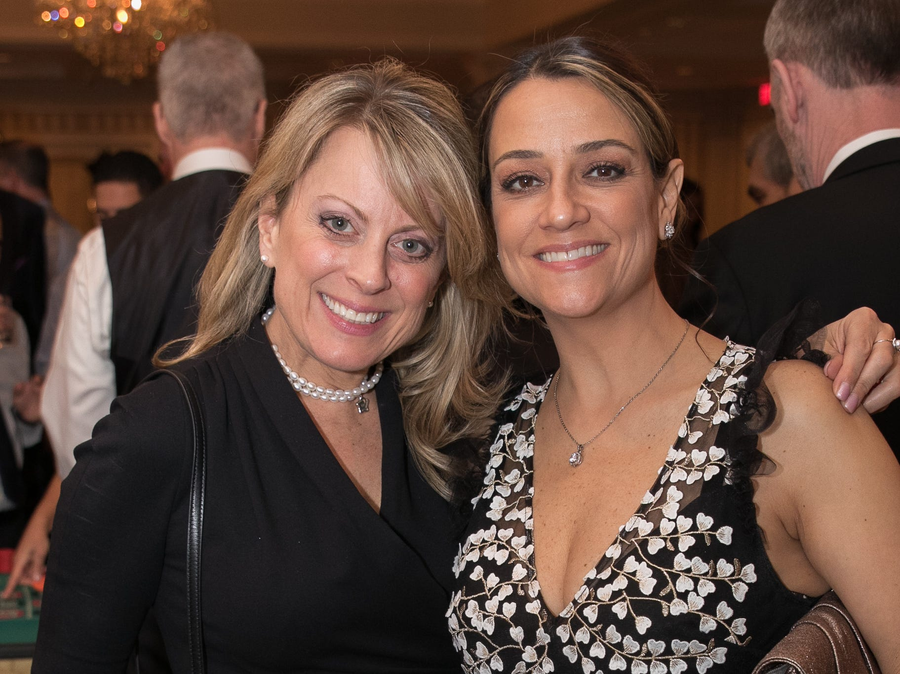 Michelle Bardgett, Andrea Caipens. The Oakland Education Foundation held their 25th Anniversary Casino Night Gala at Preakness Hills Country Club in Wayne. 03/16/2019