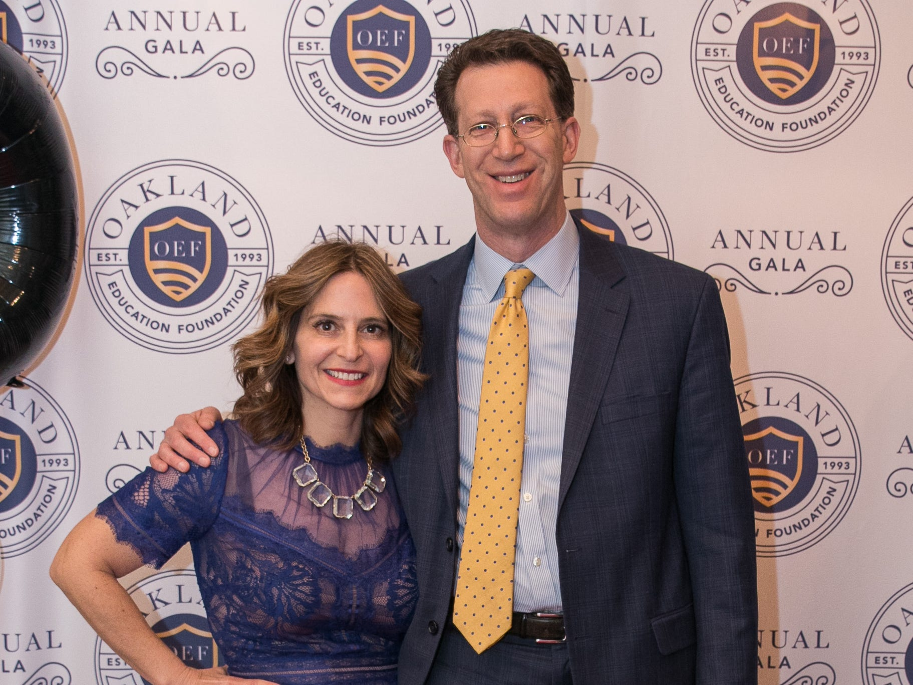 Lisa and Adam Cooper. The Oakland Education Foundation held their 25th Anniversary Casino Night Gala at Preakness Hills Country Club in Wayne. 03/16/2019