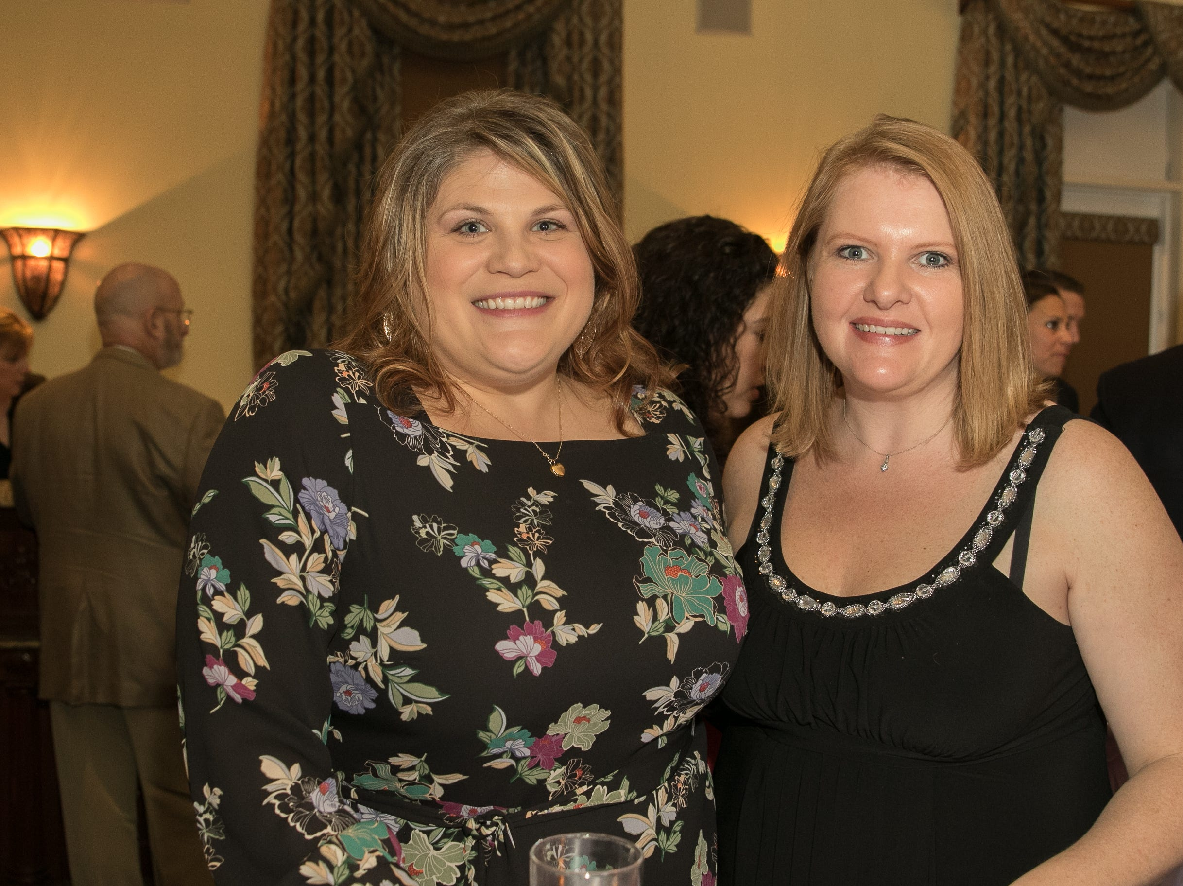 Melissa Rhodes, Kerry Webb, Midland Park Family Denistry- Bronze Sponsers. The Emmanuel Cancer Foundation 9th Annual Bash at The Brick House. 03/15/2019