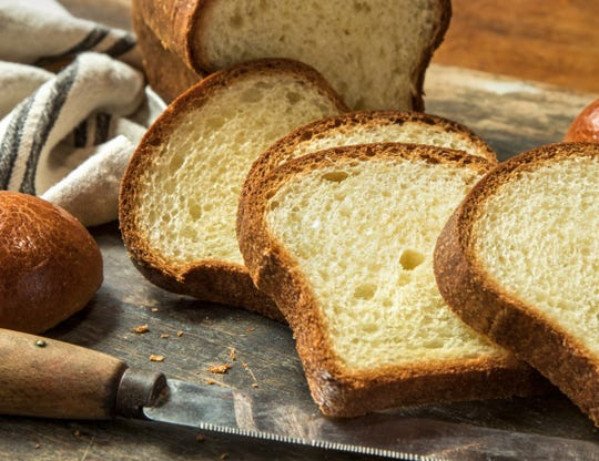 This brioche bread from Balthazar Bakery can be delivered to you through Doo-Wops Delivery.