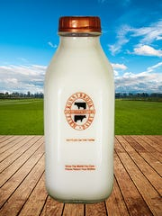 Creamline milk in glass bottles can be driveled to you through Doo-Wops Delivery.