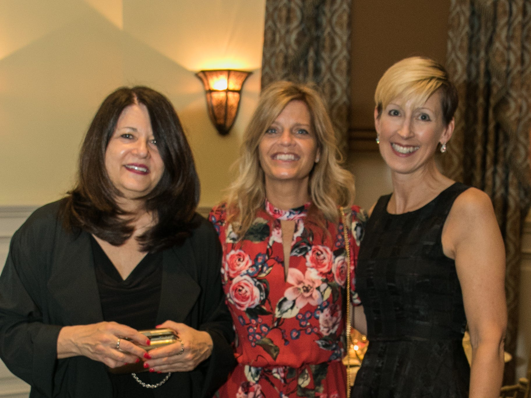 Nargaret McCombs, Mary Hosier, Vicki Holst. The Emmanuel Cancer Foundation 9th Annual Bash at The Brick House. 03/15/2019