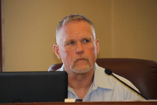 Luna County Manager Chris Brice.