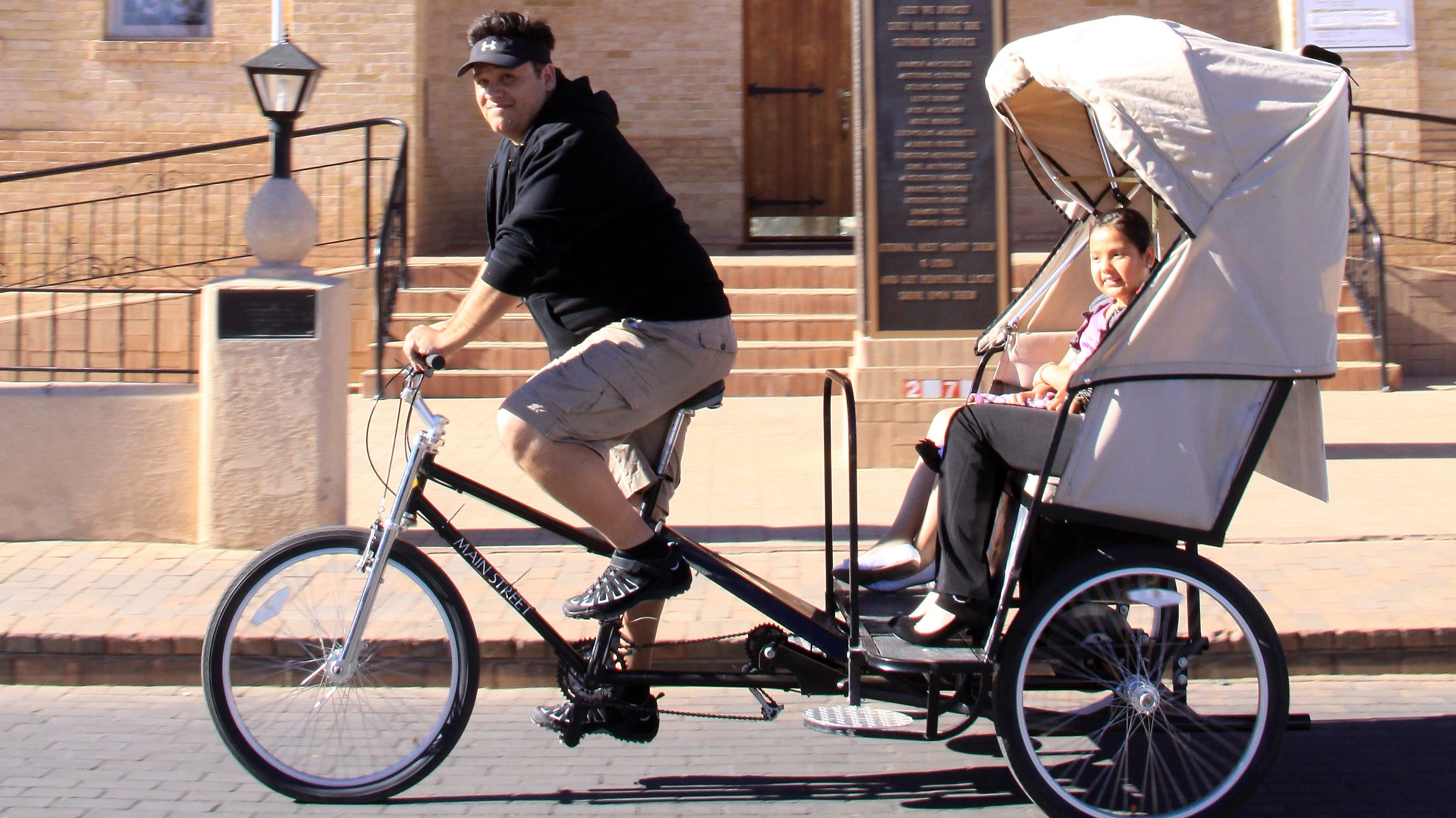 El Paso-based pedicab service expanding to downtown Las Cruces