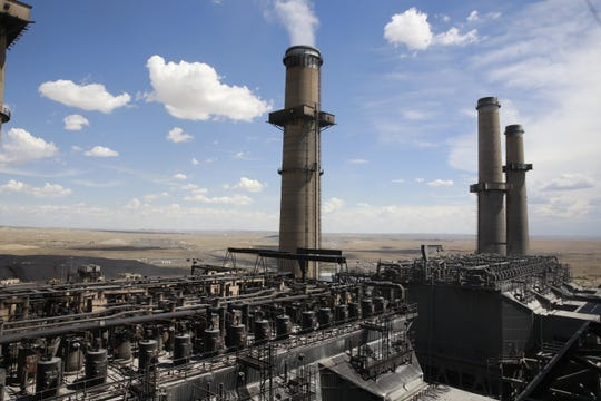 The San Juan Generating Station is pictured in 2016 in Waterflow.